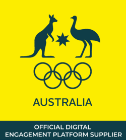 Official Digital Engagement Platform Supplier for Australian Olympic Committee